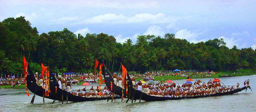Snake Boat Race Festival in Kerala