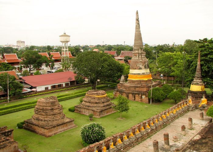 Tourist attractions in Thailnd