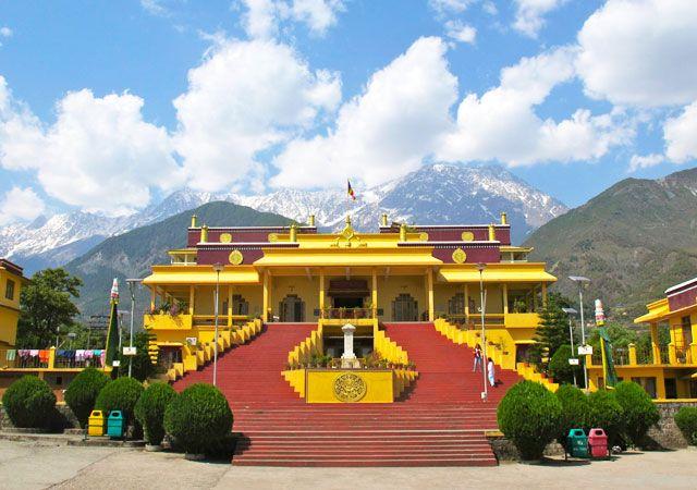 Dalai Lama temple in Mcleod Ganj