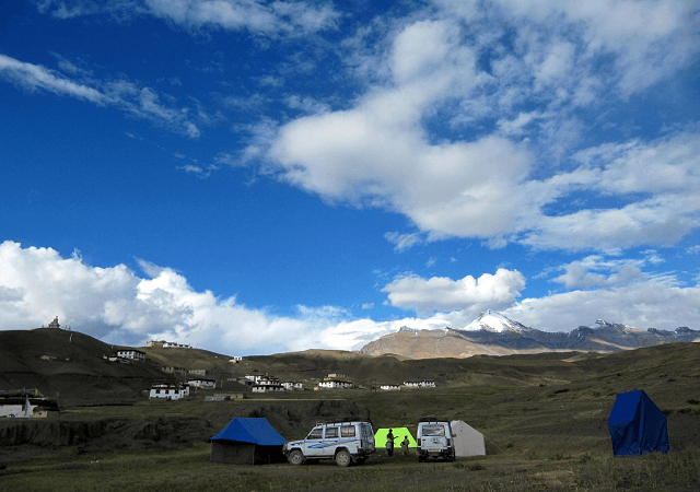 Camping, Lahual Spiti