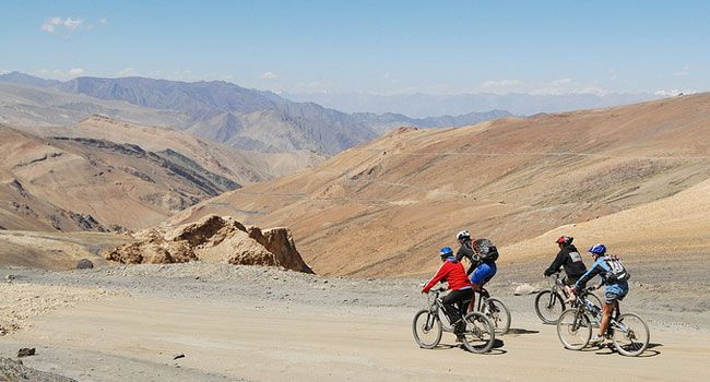Mountain Biking, Ladakh