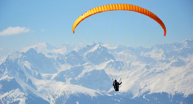 Paragliding in leh ladakh