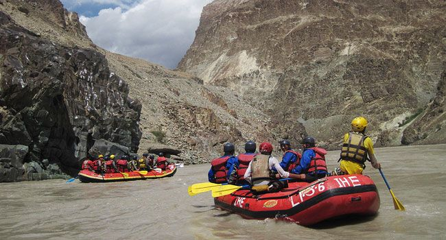 River Rafting, Zanskar River