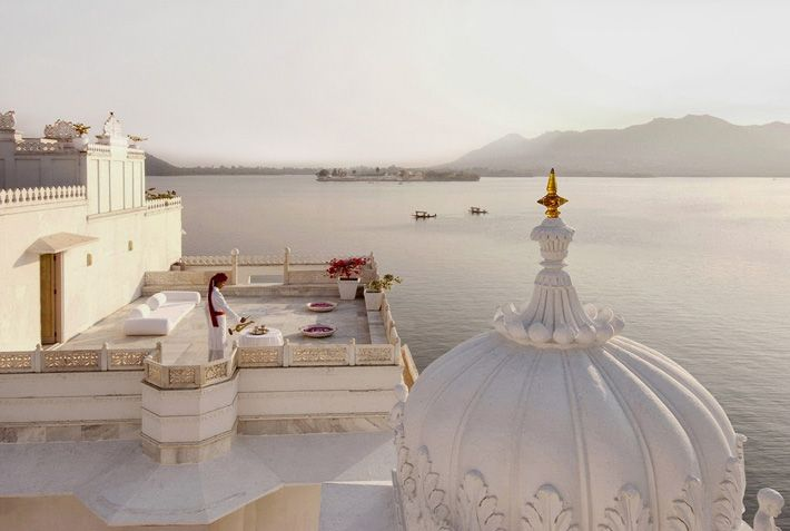 Taj Lake Palace  in udaipur