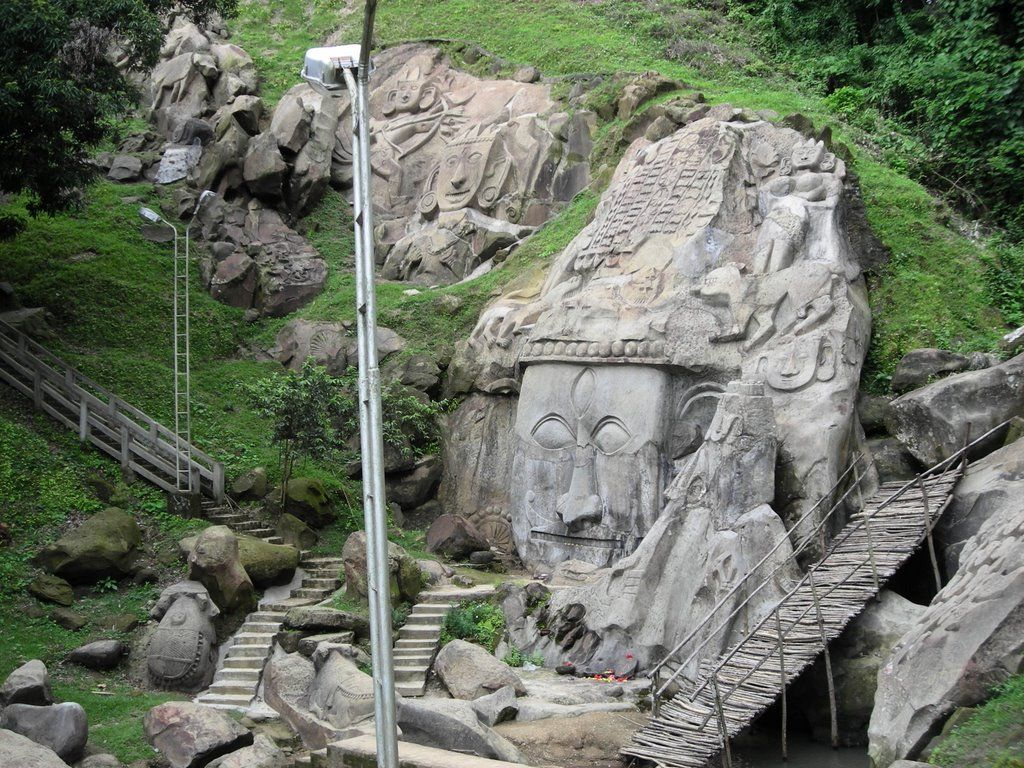 Unakoti hills