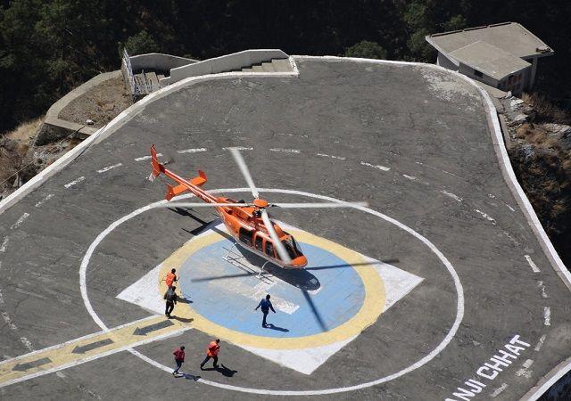 Maa Vaishno Devi yatra by helicopter