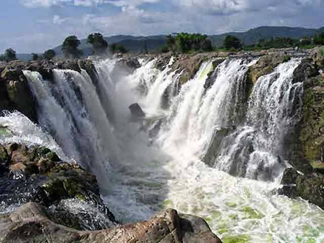 Langshiang Fall in Meghalaya, India