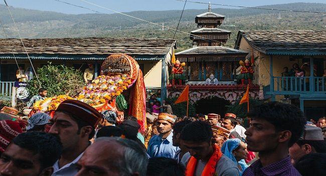 Dussehra festival in Kullu