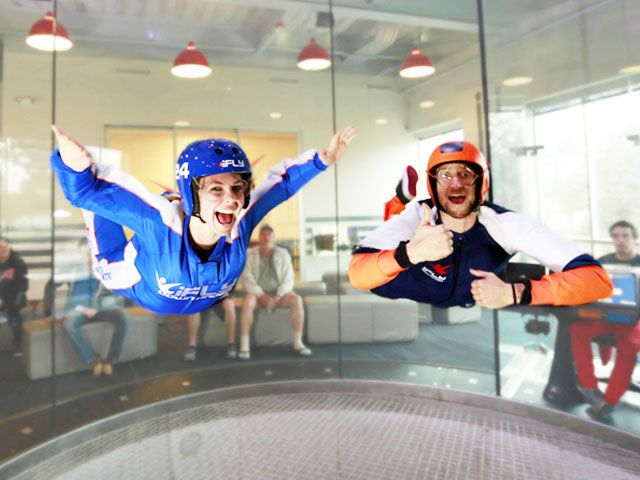 Skydiving at Isky in Singapore