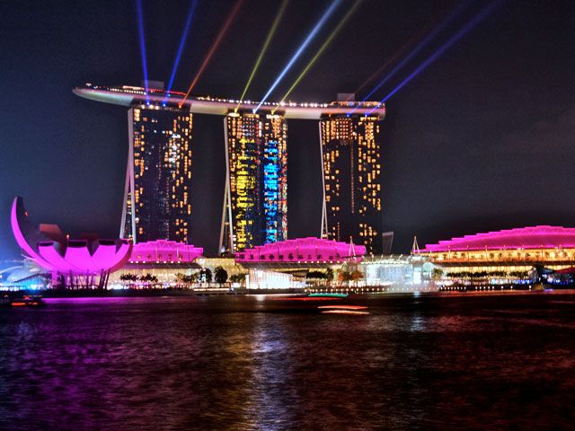 Marina Bay Stand in Singapore