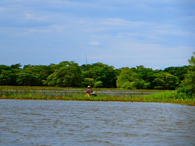 Galkadawala Lake in Sri Lanka