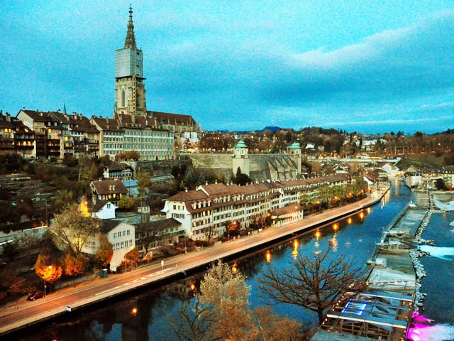 Bern's Old Town of Switzerland
