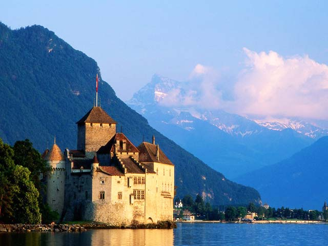 Château de Chillon in Switzerland