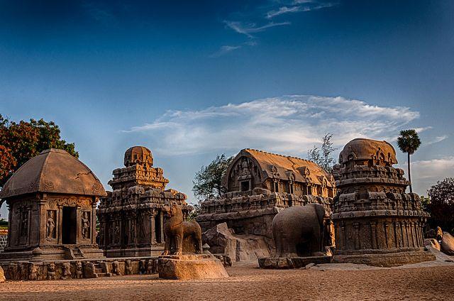 Panchrathas, Mahabalipuram