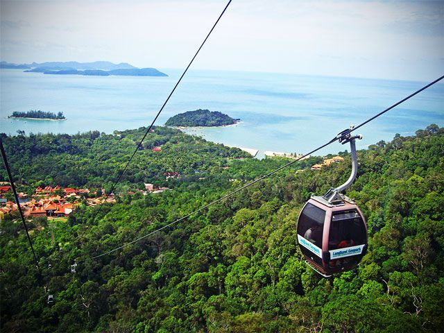 Cable Car ride in Langkawi