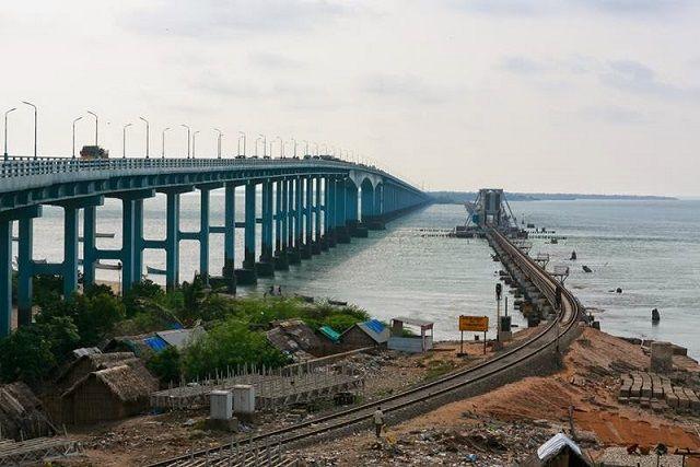 Pamban Bridge in Rameshwaram