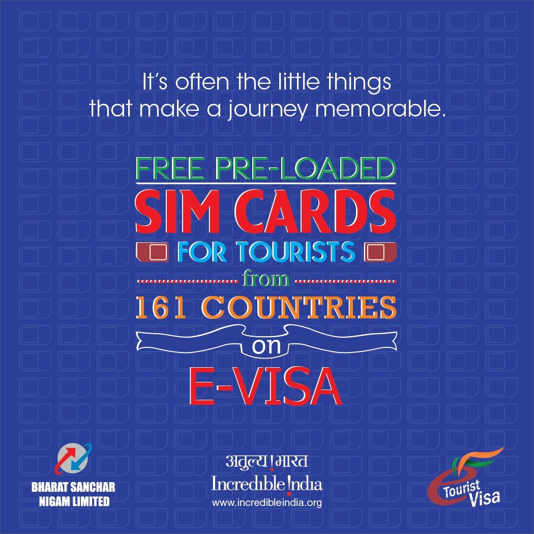 Free SIM Cards for Foreign Tourists on e-visa