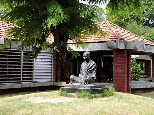 Gandhi Ashram in Ahmedabad: best places to visit in gujarat