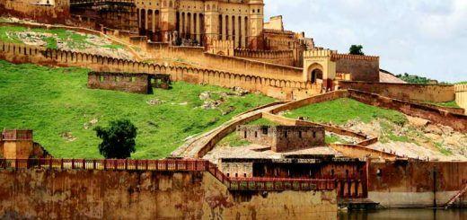 Jaipur city on Monsoon
