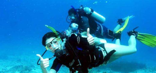 Diving at Laskwadeep Island