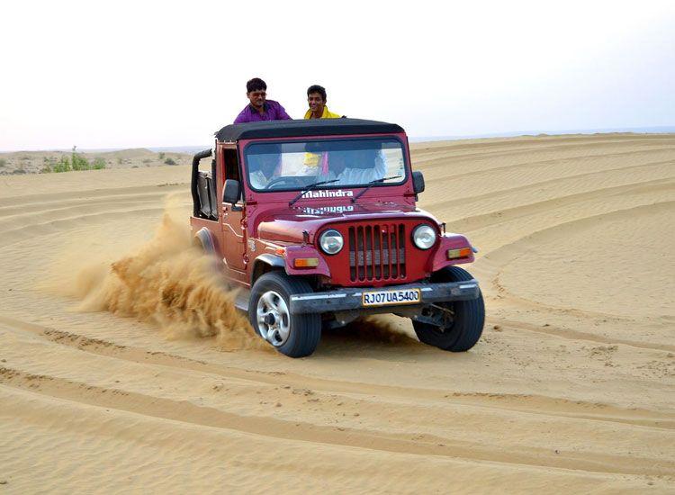 Jeep Safari in Rajasthan