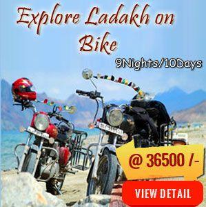 Ladakh Bike Tour 2018