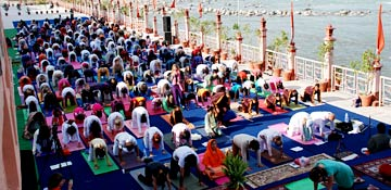 International Yoga Festival in Rishikesh