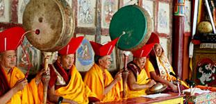 Buddhist chanting of Ladakh
