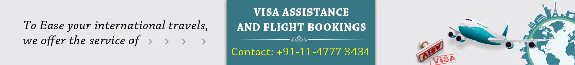visa assistance and flight bookings