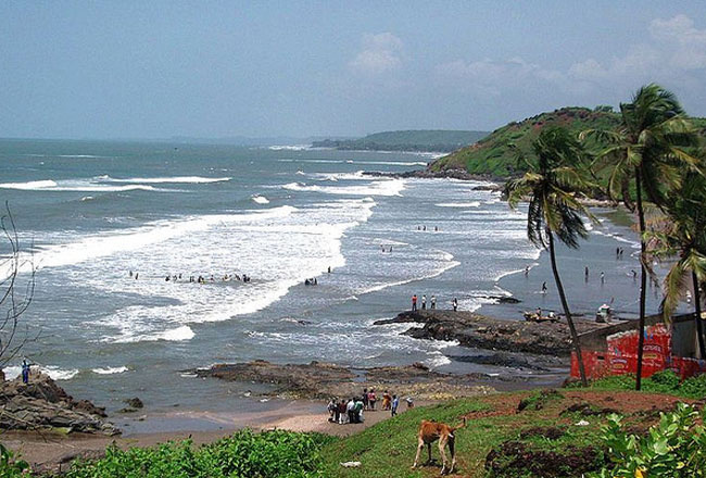 Photo Gallery Of Anjuna Beach Goa Explore Anjuna Beach