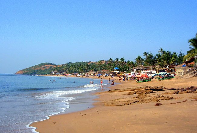 Image result for baga beach