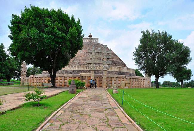 Gupta Temple Sanchi Buddhist Temples Sanchi