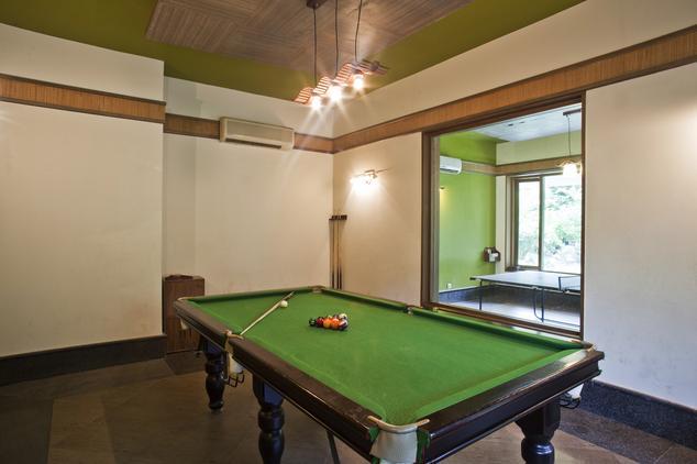 Pool Table in The Corbett Hideaway