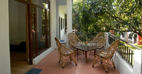 Balcony in Hotel Resort Corbett County