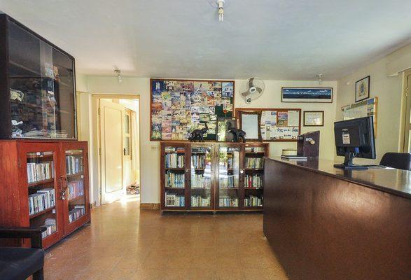 Hotel Reception & Book Room
