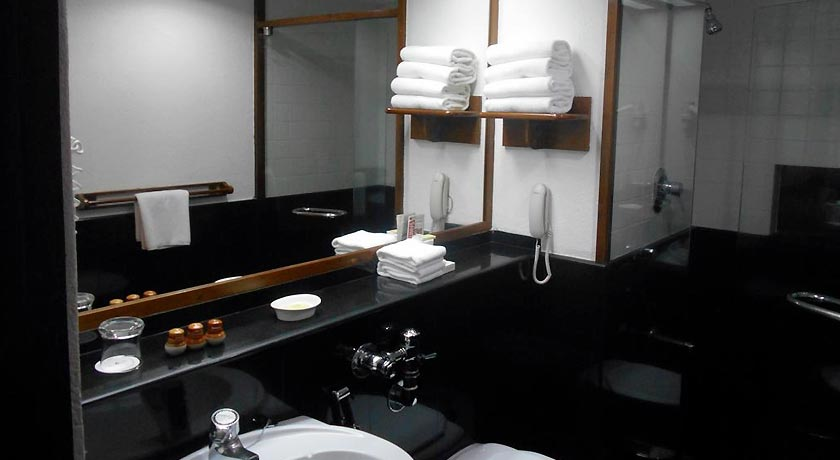 bathroom in Casino Hotel