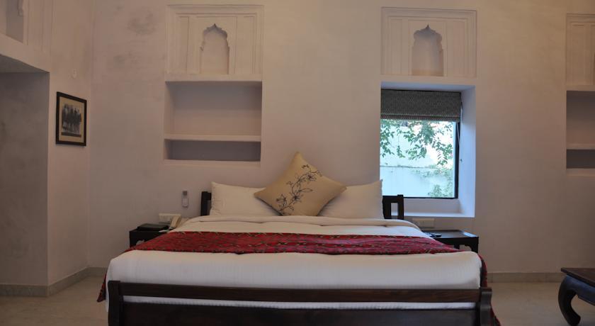 Bedroom in Chandra Mahal Haveli