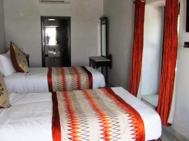 Double Rooms in Chandra Mahal Haveli