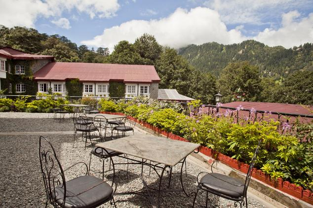 Dining in The Naini Retreat