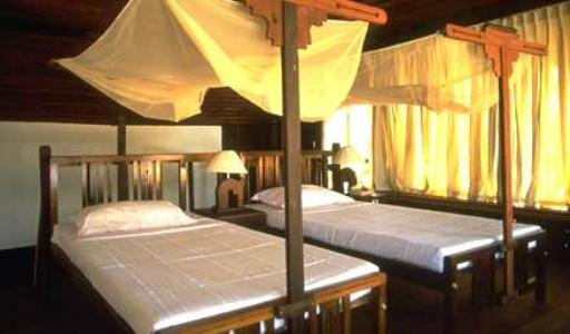 Bedroom in Coconut Lagoon In Kumarakom