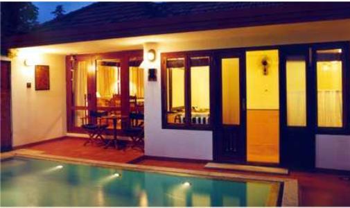 Swimming Pool in Coconut Lagoon In Kumarakom