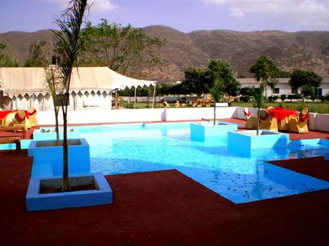 Swimming Pool2 in Countryside Resort Pushkar