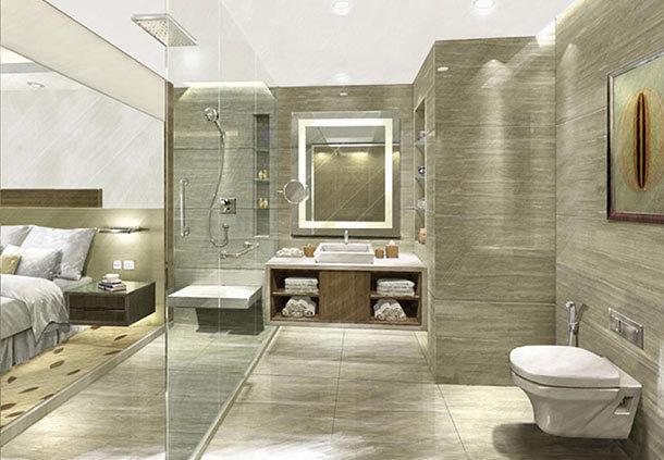 Bathroom in Courtyard By Marriott, Bhopal