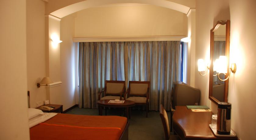 guest room in Crystal Palace, Meerut