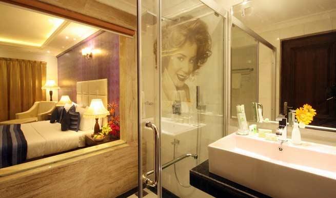 Bathroom in Hotel De Alturas Resorts
