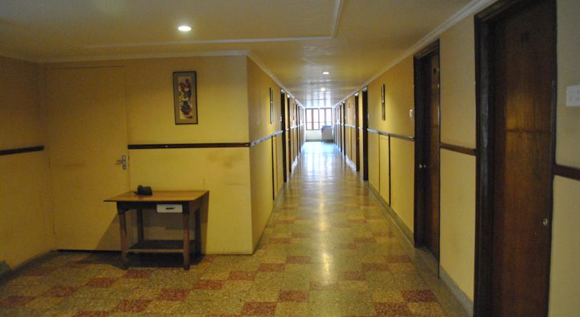 corridor in Diamond Hotel