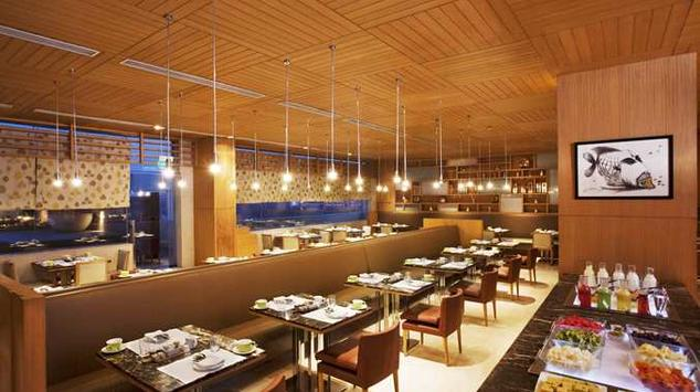 Dining in Double Tree By Hilton
