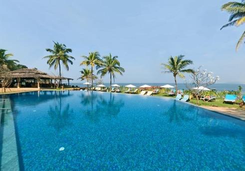 Swimming in Hotel Vivanta By Taj-Fort Aguada
