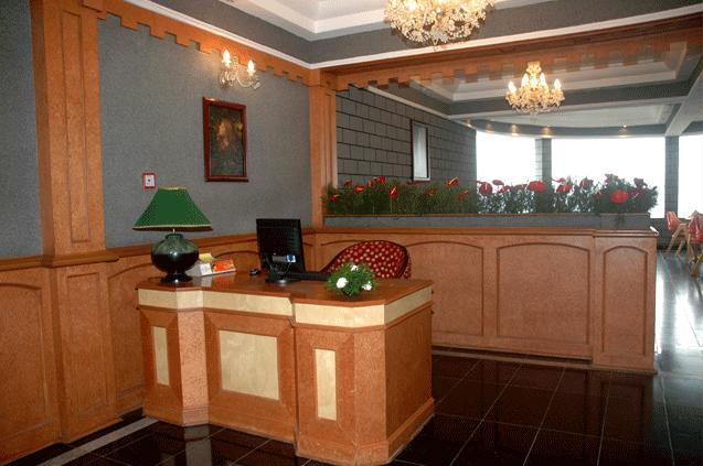 Reception in Hotel Fort Munnar