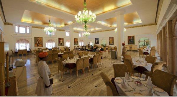 Dining2 in Fort Rajwada Hotel, Jaisalmer